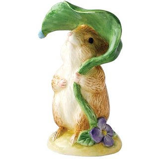 Beatrix Potter Classic Figurine - Timmy Willie Under Leaf (A25168)