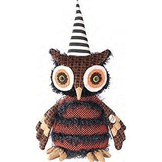 Musical Dancing Hoot Owl Figurine