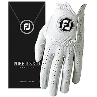 FootJoy Pure Touch Limited Edition Mens Golf Glove Left (Fits on Left Hand) - CADET ML