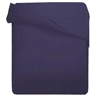 1000TC Cotton Rich FULL/QUEEN SOLID PLUM DUVET COVER ONLY BY MARRIKAS