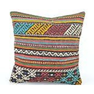 Kilim Pillow, nk427, Kilim Pillow Cover, Turkish Pillow, Kilim Cushions, Bohemian Decor, Moroccan Pillow, Bohemian Pillo