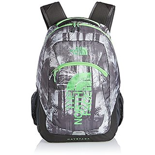 The North Face Haystack Backpack (Graphite Grey Silhouette Print/Krypton)