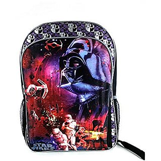 Star Wars 16 inch Backpack - Black and Grey
