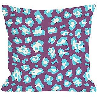Bentin Home Decor Gabriella Cheetah Neon Throw Pillow by OBC, 26