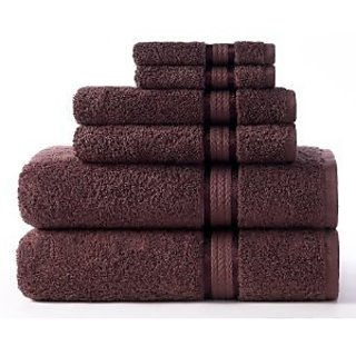 Luxury Spa Collection - 4PC MOCHA Bath Towel - 100% Egyptian Cotton BATH TOWEL MOCHA