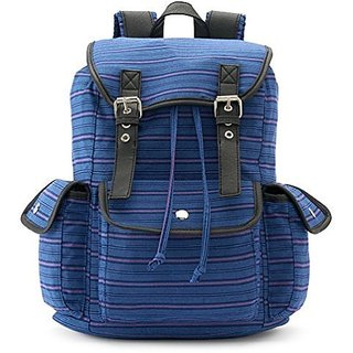 Candies Anna Striped Backpack (Blue/Stripe)