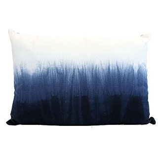 Chaps Eastport Tie-Dye Decorative Throw Pillow Blue