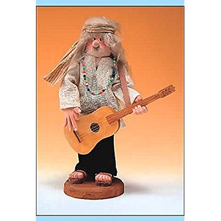 Retired 1996 Zims Heirloom Collectible *Woodstock Rocker* Nutcracker