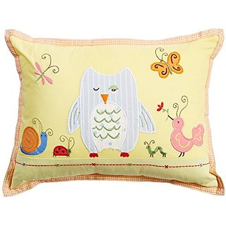 The Little Acorn Decorative Pillow, Forest Friends