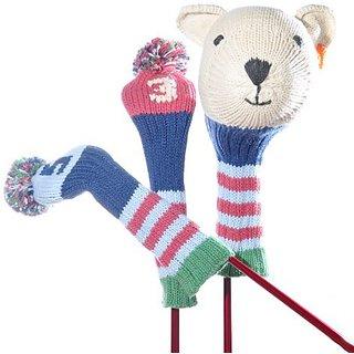 ChunkiChilli Golf Club Cover Set - Polar Bear