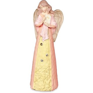 Angelstar 73046 Jewels of Faith Angel Figurine, Communion and Baptism Theme, 5-1/2-Inch