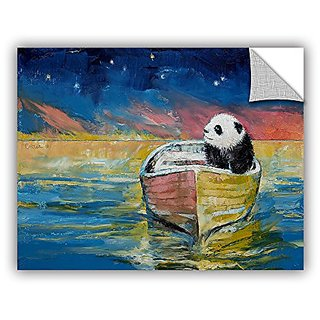 ArtWall Michael Creeses Stargazer Art Appeelz Removable Wall Art Graphic, 24 by 32