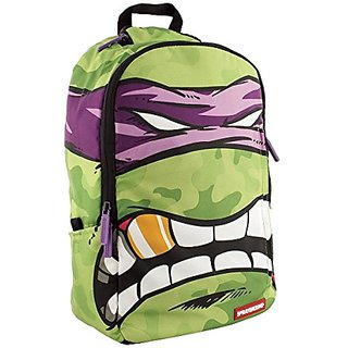 Sprayground Teenage Mutant Ninja Turtles Backpack Bag Green
