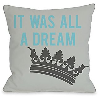 Bentin Home Decor All a Dream Version 1 Throw Pillow by OBC, 26
