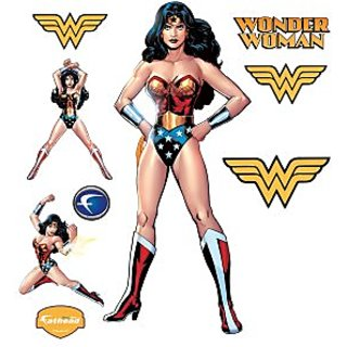 Wonder Woman Wall Graphic