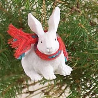 Conversation Concepts Rabbit White Original Ornament