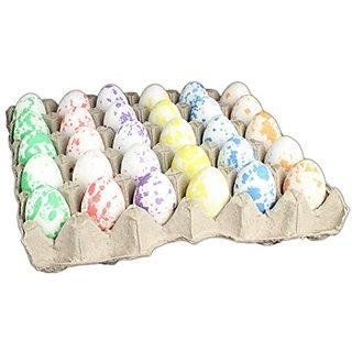 Hills Parks Easter Eggs - Pack of 30 in Egg Carton (Speckled Glitter)