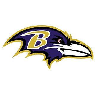 Baltimore Ravens NFL wall decals stickers - 3 stickers (12