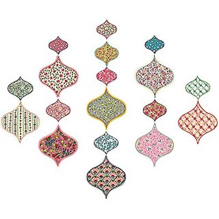 Wall Pops WPK1638 Boho Chic Ogee Wall Art Kit