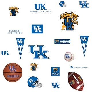 RoomMates RMK1105SCS University of Kentucky Peel & Stick Wall Decals