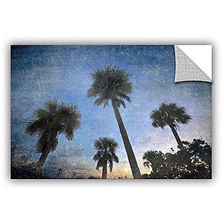 Antonio Raggios Palms at Sunset, Removable Wall Art Mural 32X48