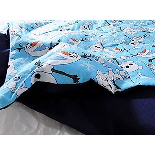 Lifetime Sensory Solutions Twin Bed Weighted Blanket 5 Lb for 40 Lb Child (Olaf