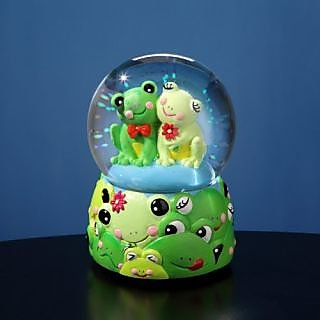 San Francisco Music Company Frog Water Globe
