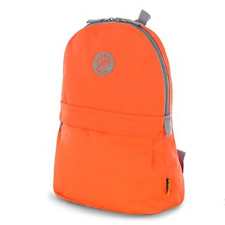 Olympia Academy 17 Inch Deluxe Back-Pack(Eco Friendly, Neon Orange, One Size