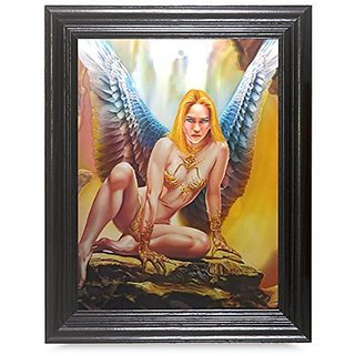 SIREN FRAMED Holographic Wall Art-POSTERS That FLIP and CHANGE images-Lenticular Technology Artwork--MULTIPLE PICTURES I