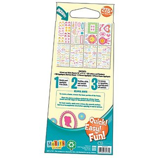Motifs In A Minute Peel and Stick Value Pack Wall Decor Appliqus Princess