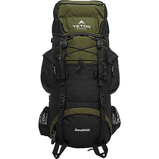 TETON Sports Scout3400 Internal Frame Backpack,3400 cubic inch