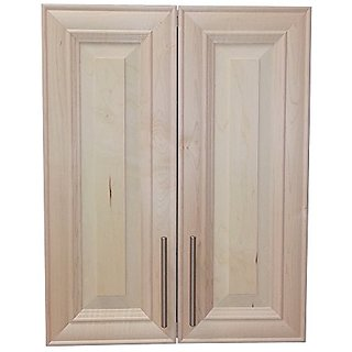 Wood Cabinets Direct TER-829 Terrell 2-Door on The Wall Frameless Medicine Cabinet, 7.25
