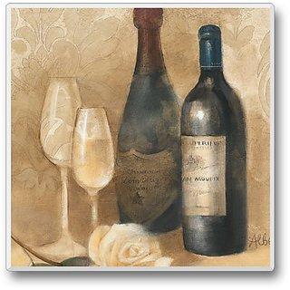 Vintage Wine 11 Single Coaster 3.6