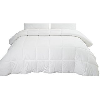 Highland Feather Manufacturing 180 Thread Count Richmond California Synthetic Duvet, X-King, White