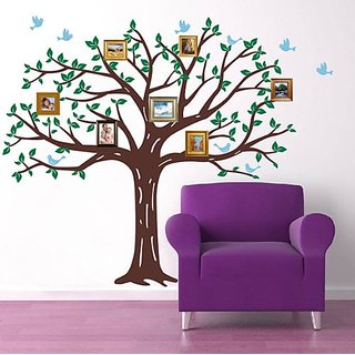 Pop Decors Wall Decals, Family Photo Tree