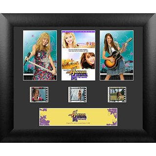 Hannah Montana Framed Limited Edition 35mm Film Cells - FC5176
