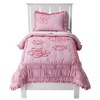 Circo® Ruffle Quilt Set - Pink (Full)