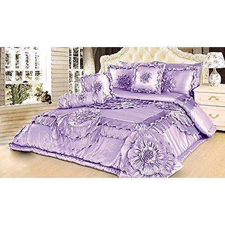 Tache Home Fashion BM9605-Q 6 Piece Comforter Set, Queen