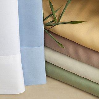 Luxurious Bamboo Viscose Duvet Set - Taupe - Brown Sugar - King/CalKing