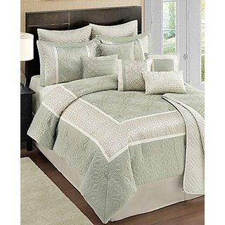 Sunham Kody 12 Piece King Comforter Ensemble