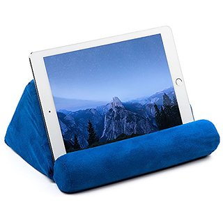 Ideas in Life Galaxy, Ipad and Tablet Pillow, Plush Microfiber Mini Tablet Computer Holder Sofa Reading Stand, Self Stan