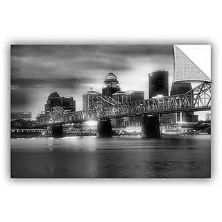 ArtWall Steve Ainsworths Gritty City Art Appeelz Removable Graphic Wall Art, 32 x 48