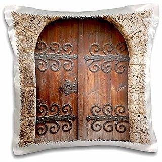 3dRose Burghausen Castle Burghausen, Germany - EU10 MDE0088 - Michael DeFreitas - Pillow Case, 16 by 16-inch (pc_137161_