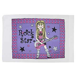 Standard Pillowcase - Rock Star - Girl
