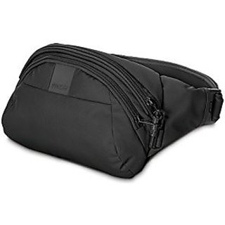 PacSafe Metrosafe LS120 Anti-Theft Hip Pack, Black, One Size