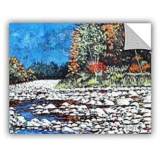 ArtWall Gene Fousts Pebble Creek Art Appeelz Removable Wall Art Graphic, 14 x 18