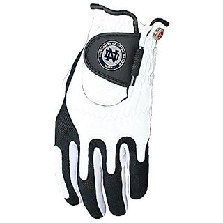 Zero Friction NCAA Notre Dame Golf Glove, Left Hand