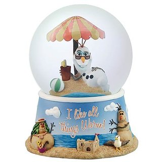 Westland Giftware All Warm Things Resin Globe, 100mm