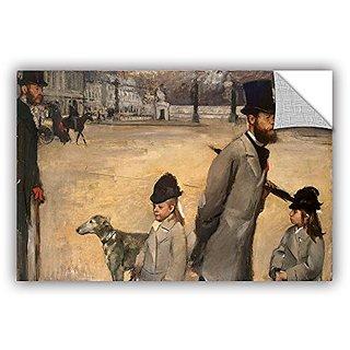 ArtWall Edgar Degass Place De La Concorde Art Appeelz Removable Wall Art Graphic, 16 x 24