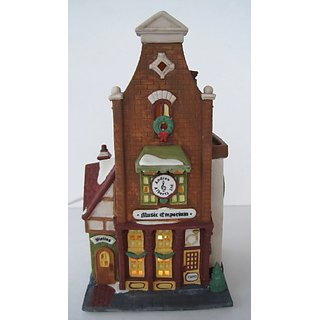 Department 56 Music Emporium 56.5531-0 Christmas in the City Series